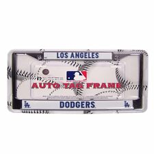 MLB Los Angeles Dodgers Metal Chrome License Plate Frame Auto Truck Car