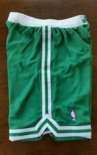 Mens NBA adidas Swingman Green Boston Celtics shorts Small