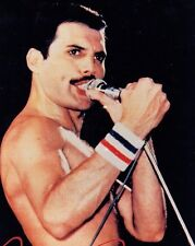 Freddie Mercury Queen Red white & blue Sweat band rare