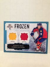 2013-14 Artifacts Frozen Artifacts Stephen Weiss JSY #FA-WE Florida Panthers