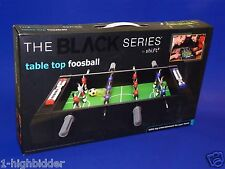 "New Shift3 20"" Black Series Table Top Foosball Fuzball Football Soccer Game NIB"
