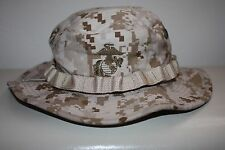 NEW USMC Combat Boonie Cover Field Desert MARPAT Digital Genuine Issue ~ XLarge
