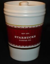 Starbucks 2009 Coffee Tea Storage Container Canister