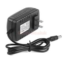 US Plug AC 100-240V to DC 6V 2A Power Supply Charger Converter Adapter 5.5mm