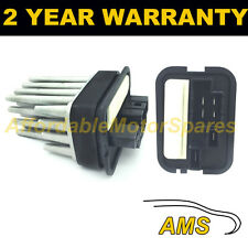FOR VAUXHALL ZAFIRA 99-15 SAAB 93 9-3 02-07 HEATER BLOWER MOTOR FAN RESISTOR