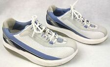 MBT Womens BOOST BLUE SNEAKERS Size 9.5 WALKING SHOES Toning FITNESS Heavy