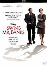Walt Disney's Saving Mr. Banks (DVD, 2014) Kids Childrens Movie