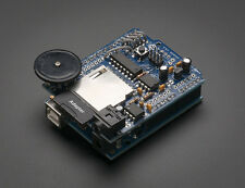 Adafruit Wave Shield Kit for Arduino Sound Audio Music To Speaker or Headphones