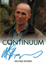 Continuum Seasons 1 and 2 Autograph Card Michael Rogers as Roland Randol