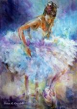 """Nuevo Y Original Sera Caballero s.w.a """"solo un momento"""" Ballet Danza pantomima Pintura"""