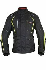 Oxford 2.0 Waterproof Motorbike Motorcycle Subway Jacket Black 3XL 48 Mens