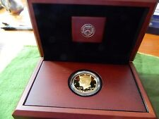 2014-W 50th Anniversary Kennedy Half Dollar Gold Proof Coin W/Box and COA