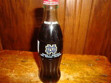 Coca Cola Original Glass Bottle Notre Dame Womens Basketball Champions