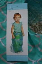 Old Navy new Infant Baby Girls 2 Piece Mermaid Halloween Costume size 0-6 M NWT