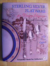 ANTIQUE STERLING SILVER FLATWARE PRICE GUIDE COLLECTOR BOOK