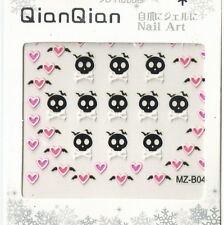 Skull + Ghost Japan 3D Nail Art Decoration Sticker Tip DIY NS0140