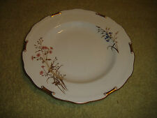 Royal Crown Derby Devonshire Salad Plate-Bone China England-Gold Scalloped Edges