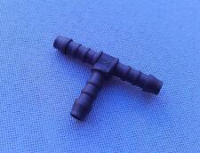 (2722) 1x T - Schlauchverbinder RGV 6 / 6 / 6 mm Connector 50mm T-Stück schwarz