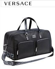 VERSACE PARFUMS MEN WEEKENDER DUFFLE GYM BAG OVERNIGHT TRAVEL HANDBAG .