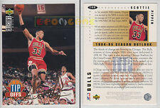 NBA UPPER DECK 1994 COLLECTOR'S CHOICE Scottie Pippen #169 Gold Signature ItaEng