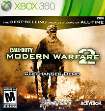 Call of Duty: Modern Warfare 2 Cliffhanger Demo (Microsoft Xbox 360, 2009)