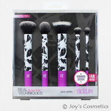 "1 REAL TECHNIQUES Your Picks: Berlin Brush Set ""RT-1466""  *Joy's cosmetics*"