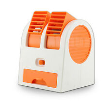 Mini Air Conditioner Dormitory Power USB  Fan Cooling Portable Cooler Orange