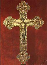 Alte Kunstpostkarte - Benediktinerabtei Engelberg - Reliquienkreuz