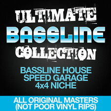 Ultimate Bass Collection 4 x DVD DJ Friendly - Bassline, Speed Garage, 4x4 Niche