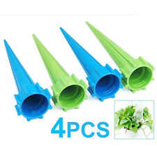4 x Garden Watering Spikes Plant Waterers Bottle Irrigation System Santa Gift LW