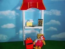 Barbie Doll McDonalds Archway Serving Center Happy Meal TY Beanie Baby Play Lot