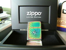 EXTREMELY RARE LIMITED EDITION RAINBOW SPIDER ZIPPO LIGHTER. ONLY 1000 MADE.