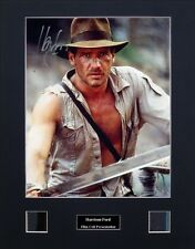 Harrison Ford Ver2 Signed Photo Film Cell Presentation