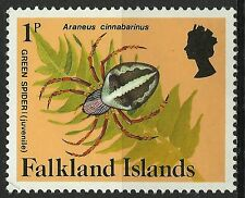 Falkland Islands Insectes Araignees Insects Spiders Insekten Spinnen ** 1984