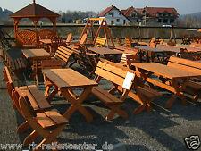 5 tlg.GARTENMÖBEL Holz Garnitur Sitzgarnitur Farbe TEAK Massiv Gartengarnitur
