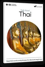 Eurotalk Talk Now Thai for Beginners - Download option and CD ROM