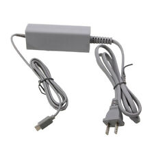 US Plug Charger Adapter Power Supply  Cord Cable for Nintendo Wii U Gamepad Grey