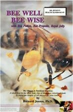Bee Well Bee Wise with pollen propolis Royal Jelly Vol 5 Bernard Jensen WT72139