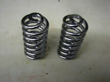 "CUSTOM BOBBER CHOPPER SPORTSTER UK MADE CHROME SEAT SPRING PAIR 3-1/2"" CU-SPG-3+"