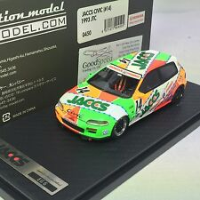 1/43 Ignition Honda Civic VTECH #14 EG6 1993 JTC JACCS Honda Primo #IG0450