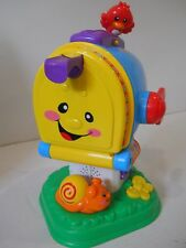Fisher Price Laugh & Learn Learning Letters Mailbox Singing talking music number