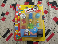 """The Simpsons Sunday Best Marge & Maggie Playmates 6"""" Action Figure"""