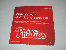 XFINITY CABLE DIGITAL WIFI DEVICE CLEANING CLOTH PHILLIES BASEBALL BALLPARK