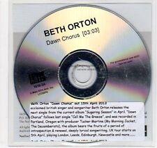 (EC107) Beth Orton, Dawn Chorus - 2013 DJ CD