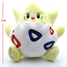 "Cute Pokemon Togepi Kids Toy Soft Plush Stuffed Doll Toy  8"" Birthday Gift"
