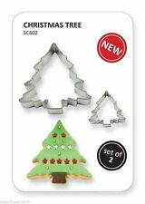 PME Set of 2 Christmas Tree Cutters cookies & cake decorating  NEXT DAY DESPATCH