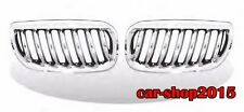 Front Kidney Grill Chrome & Black Grille For BMW E83 X3 SUV 2004-2006