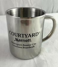 NEW Marriott Courtyard Shreveport-Bossier City Louisiana Boardwalk Steel Mug
