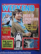 Weekend Magazine - William Roche, Sport's Glamour Girls   19th Oct 1977