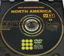 Toyota Navigation DVD Map Latest Update 100%OEM   *See Chart for Compatible Cars